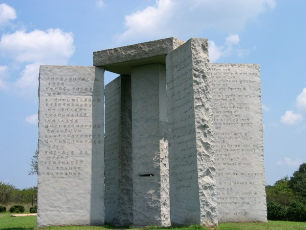 [Imagen: georgia-guidestones.jpg?w=627&h=470]