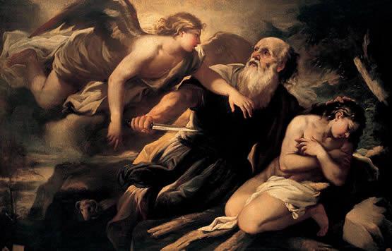 ¿Abraham fue visitado por un OVNI? Abraham-y-el-sacrificio-de-su-hijo-isaac