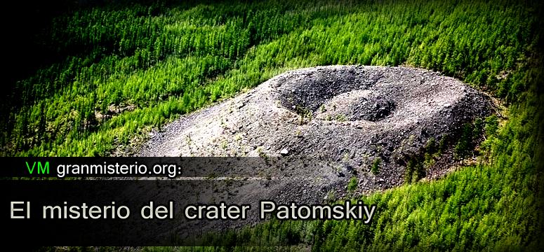 crater patomskiy