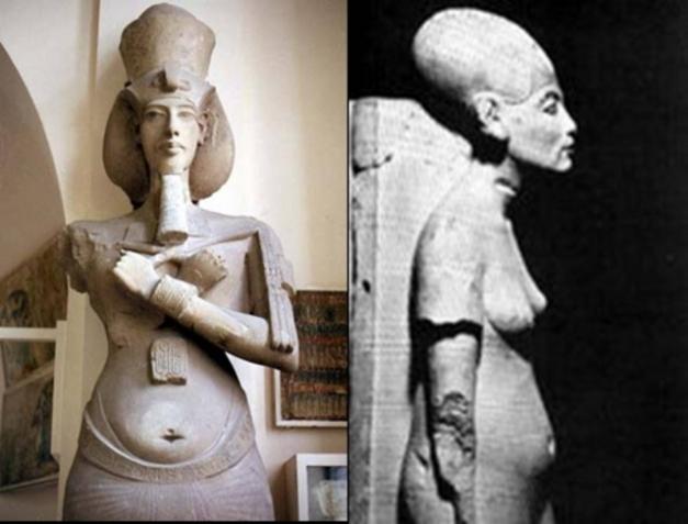 ¿Fueron los faraones extraterrestres? Akenaton_02