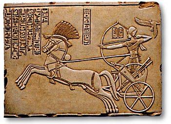 """d21f3 carros hititas - Vida y Muerte de Tutankamon, """"El Faraón Niño"""""""