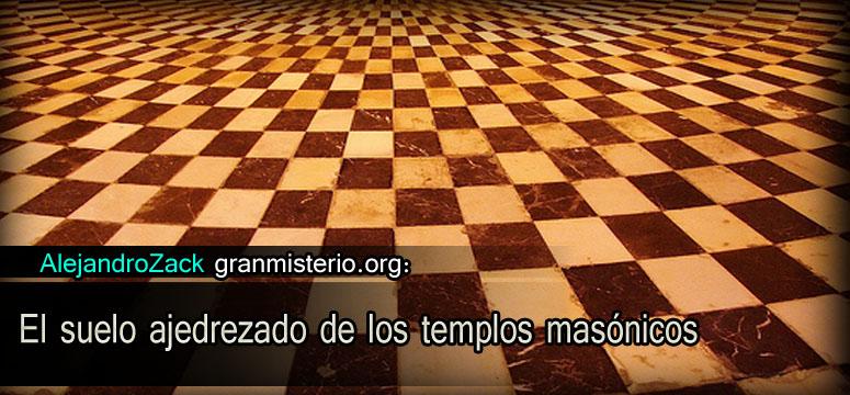 El suelo ajedrezado de los templos mas nicos gran misterio for Pisos el encinar de los reyes