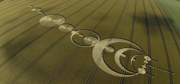 Aliens-Crop-Circles