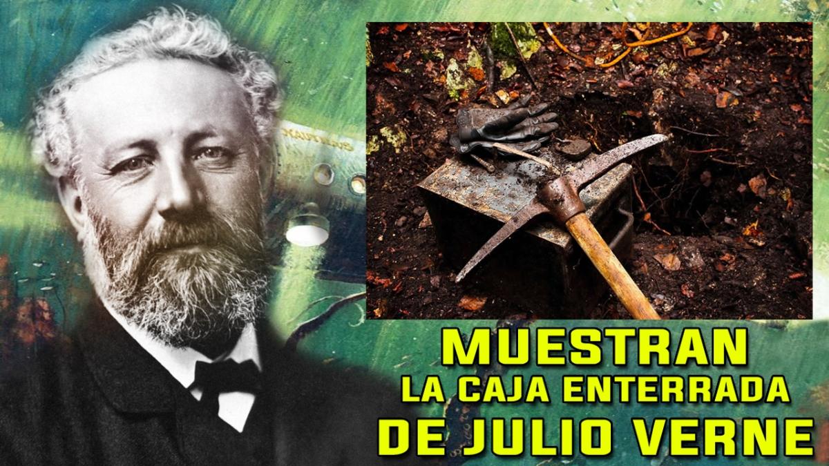Sale a la Luz los SECRETOS de la CÁPSULA DEL TIEMPO de JULIO VERNE