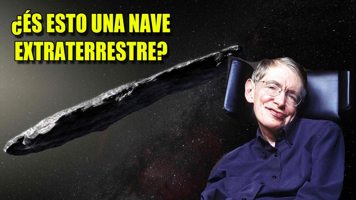 ¿Es el asteroide Oumuamua una nave extraterrestre? Stephen Hawking quiere descubrirlo