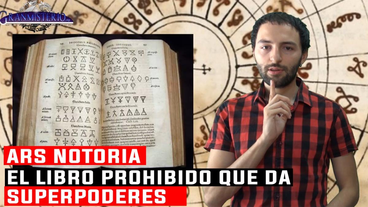 ARS NOTORIA - El libro Prohibido que da SUPERPODERES al Lector