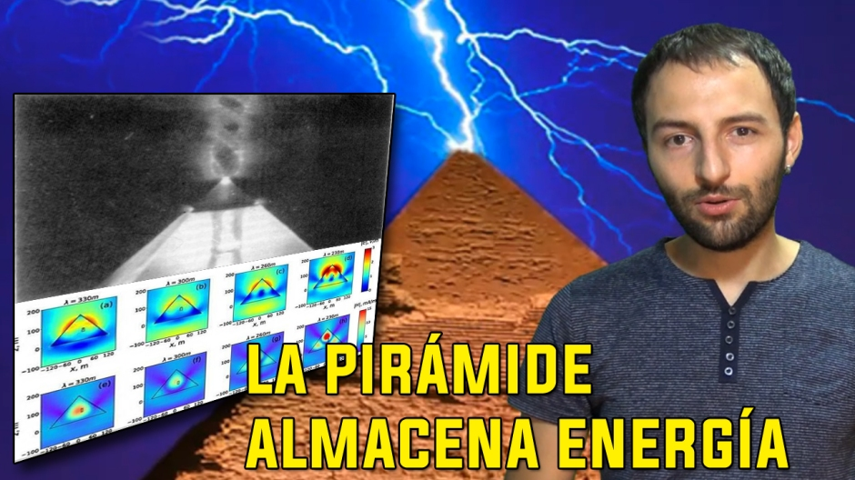 Descubren como La Gran Pirámide de Giza almacena energía electromagnética