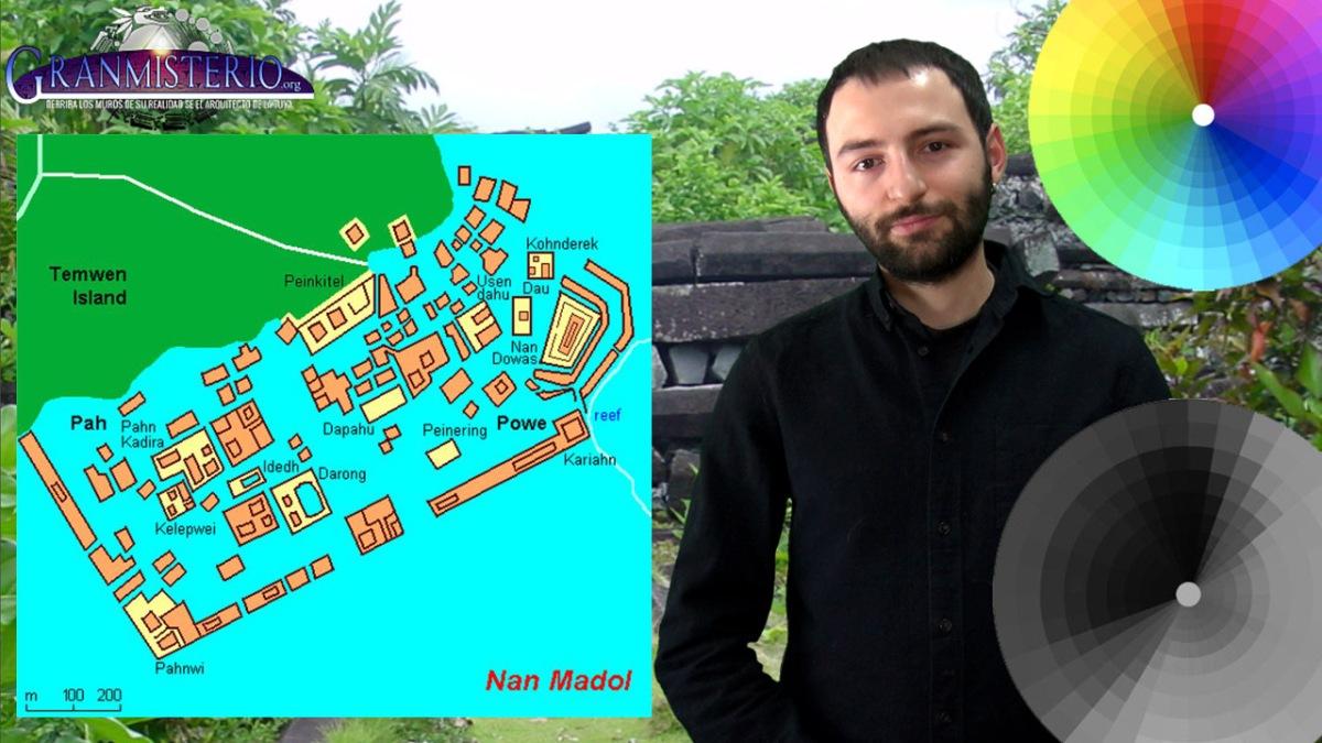 El misterio de Nan Madol, la ciudad Radioactiva de Gente que ve en Blanco y Negro
